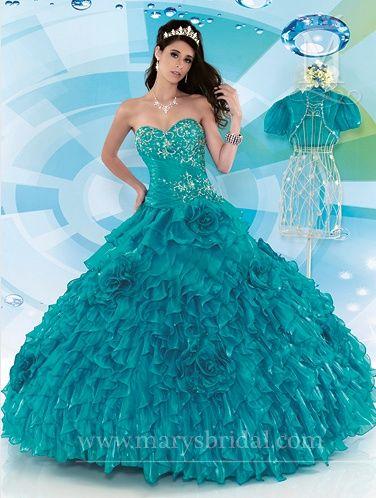 af1280b9b7 Vestidos de quince años 2013 Marys Bridal