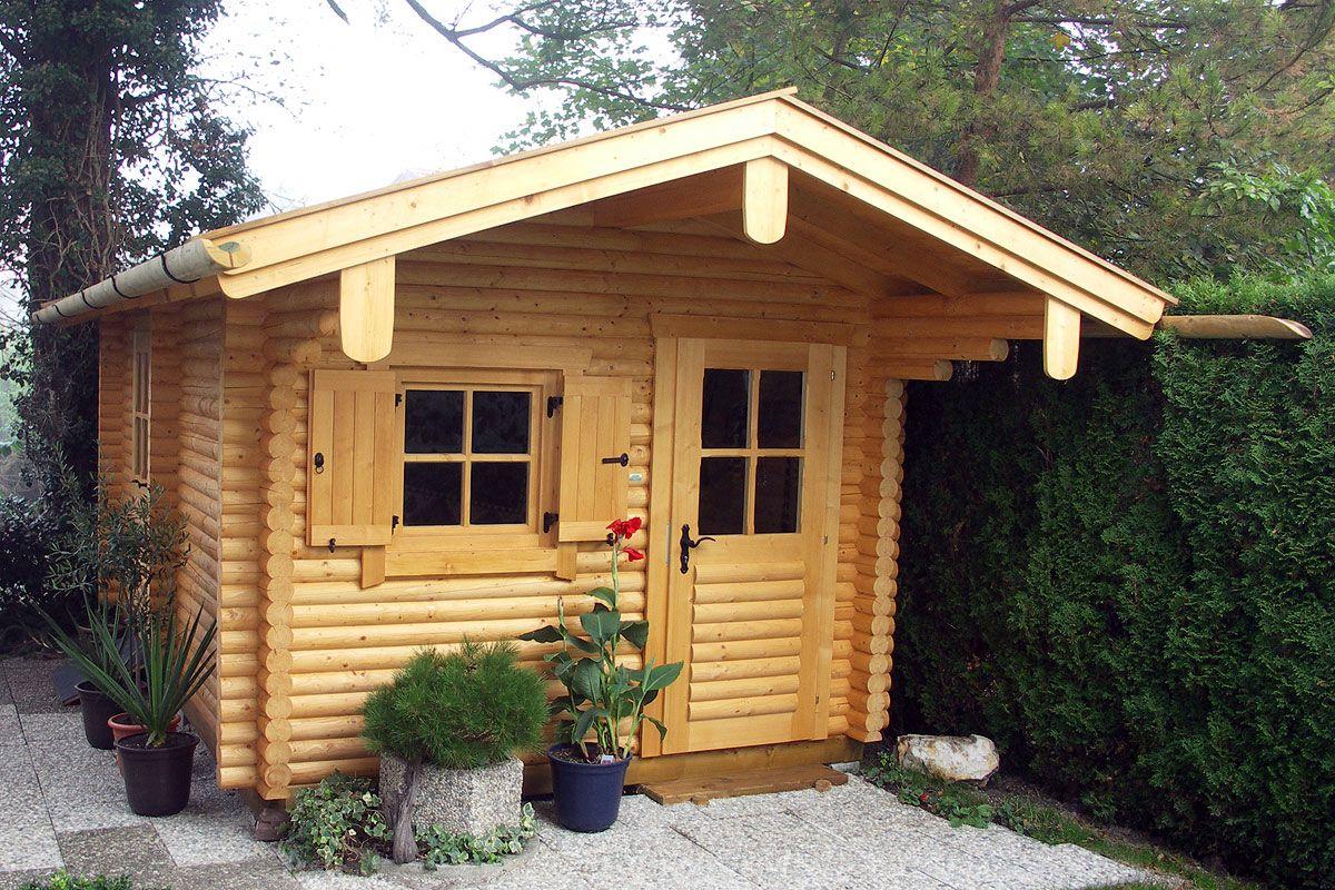 Blockhaus Gartensauna Rundstamm Blockbauweise 11 Cm Stammstarke Gartensauna Blockhaus Saunahaus