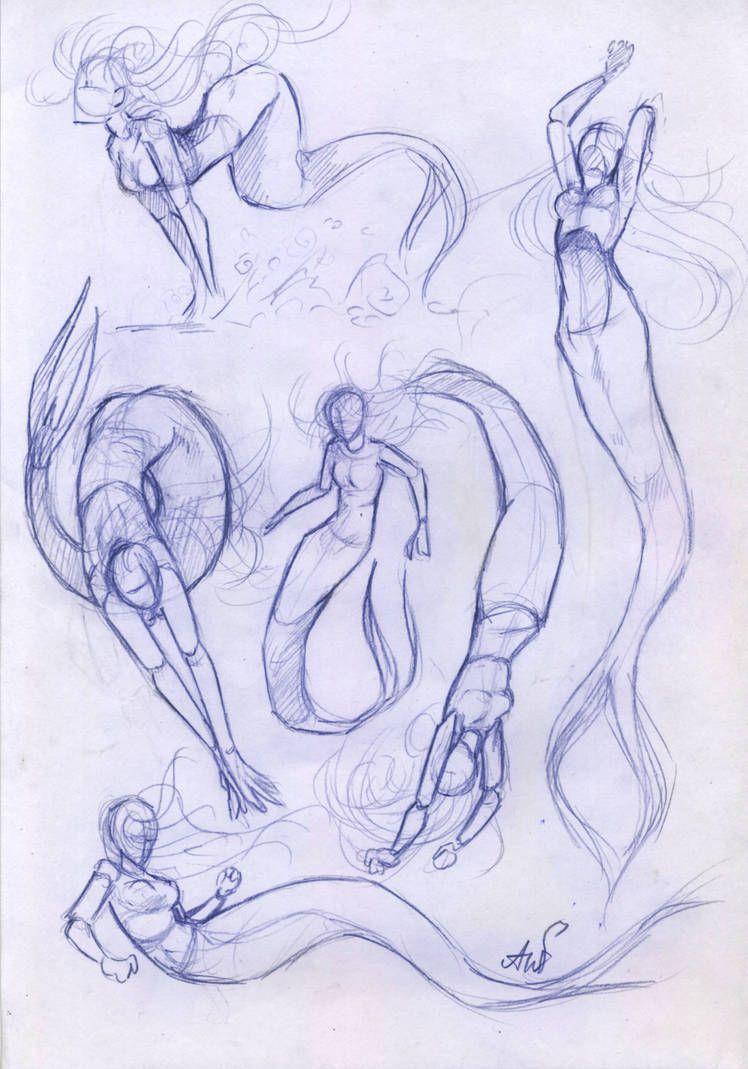 Photo of Paintings  #mermaid #drawing mermaid drawing tips, wolf drawing tips, how to dra…
