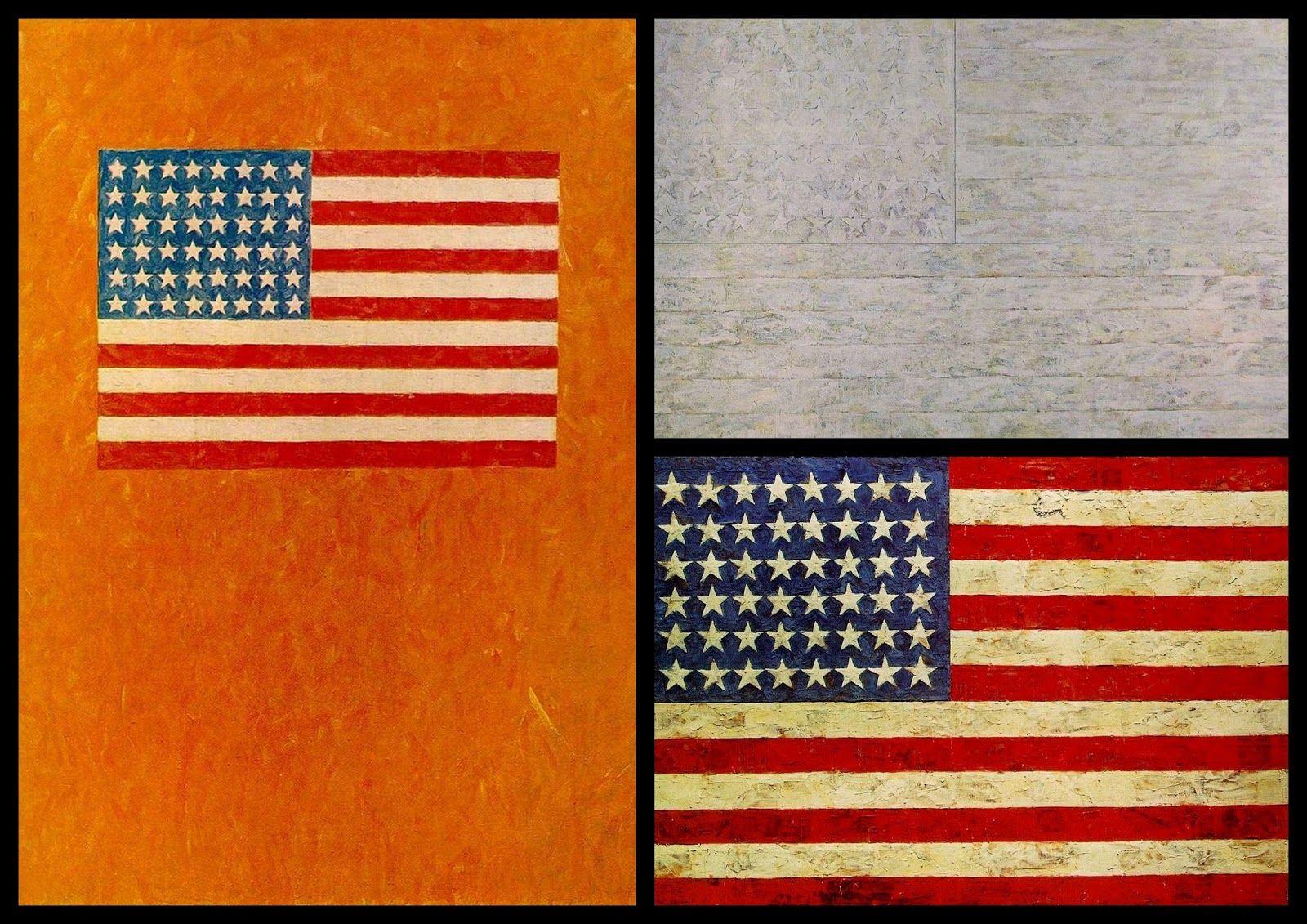 Jasper Johns Collage I Usa Flag Jasper Johns Usa Flag Collage