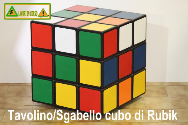 Tavolino sgabello cubo di rubik oggetti in rete pinterest for Tavolino sgabello