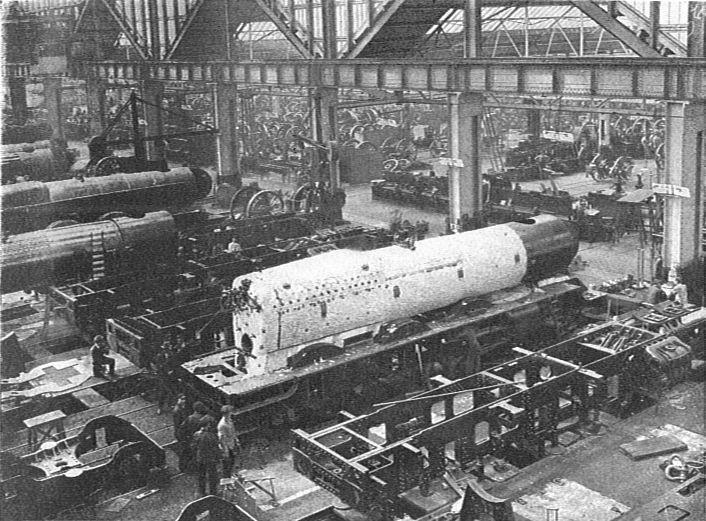 GWR Swindon Works King Class build