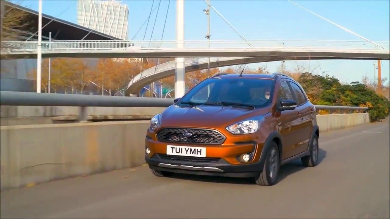 2018 Ford Ka Active Exterior Interior Driving Scenes