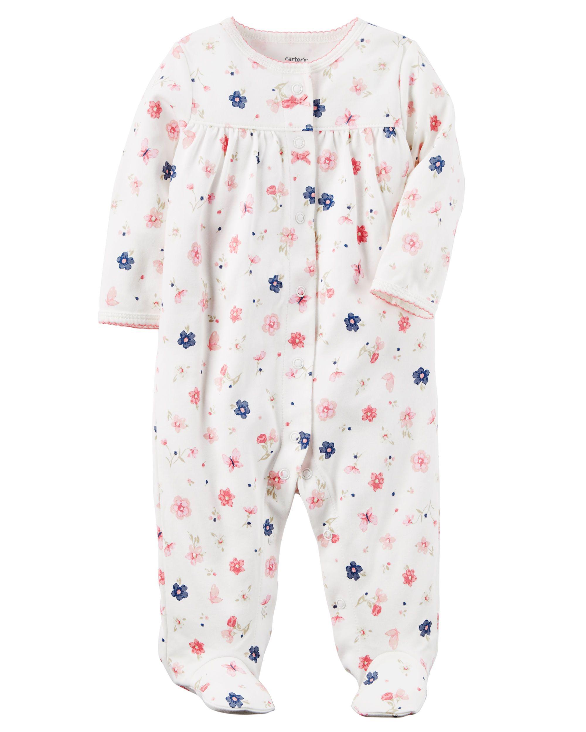 6ed7f1b026e8 Cotton Snap-Up Sleep   Play