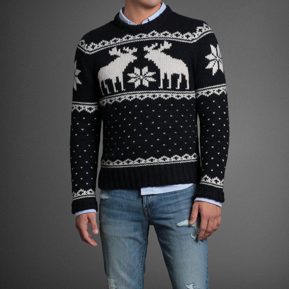 Mens Wallface Mountain Sweater