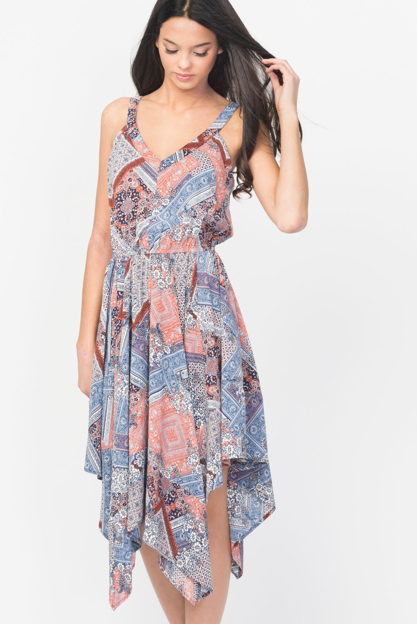 Handkerchief dress bestidos pinterest handkerchief dress