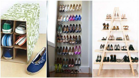 10 Ideas para Organizar tus Zapatos y Zapatillas