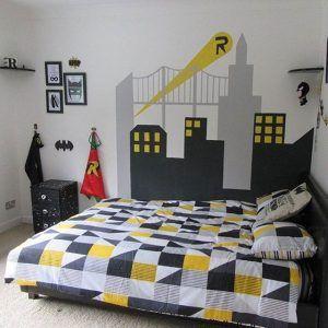 desain kamar hitam putih cowok - denah rumah