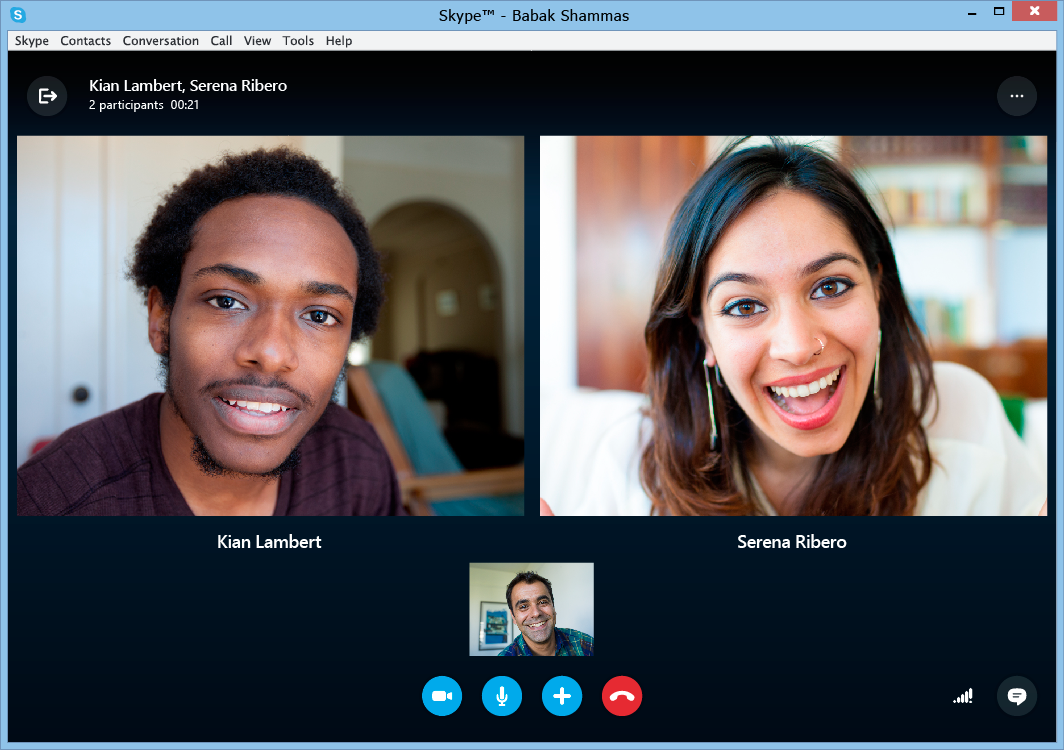Skype video call tech to adopt pinterest microsoft software skype desktop client for mac and windows updated brings new ui dynamic messaging and ccuart Choice Image