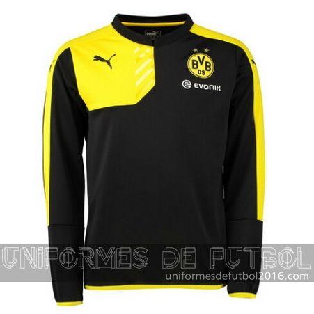 Venta de uniforme del entrenamiento ML negro Borussia Dortmund 2015 ... 90d38c7ead8b9