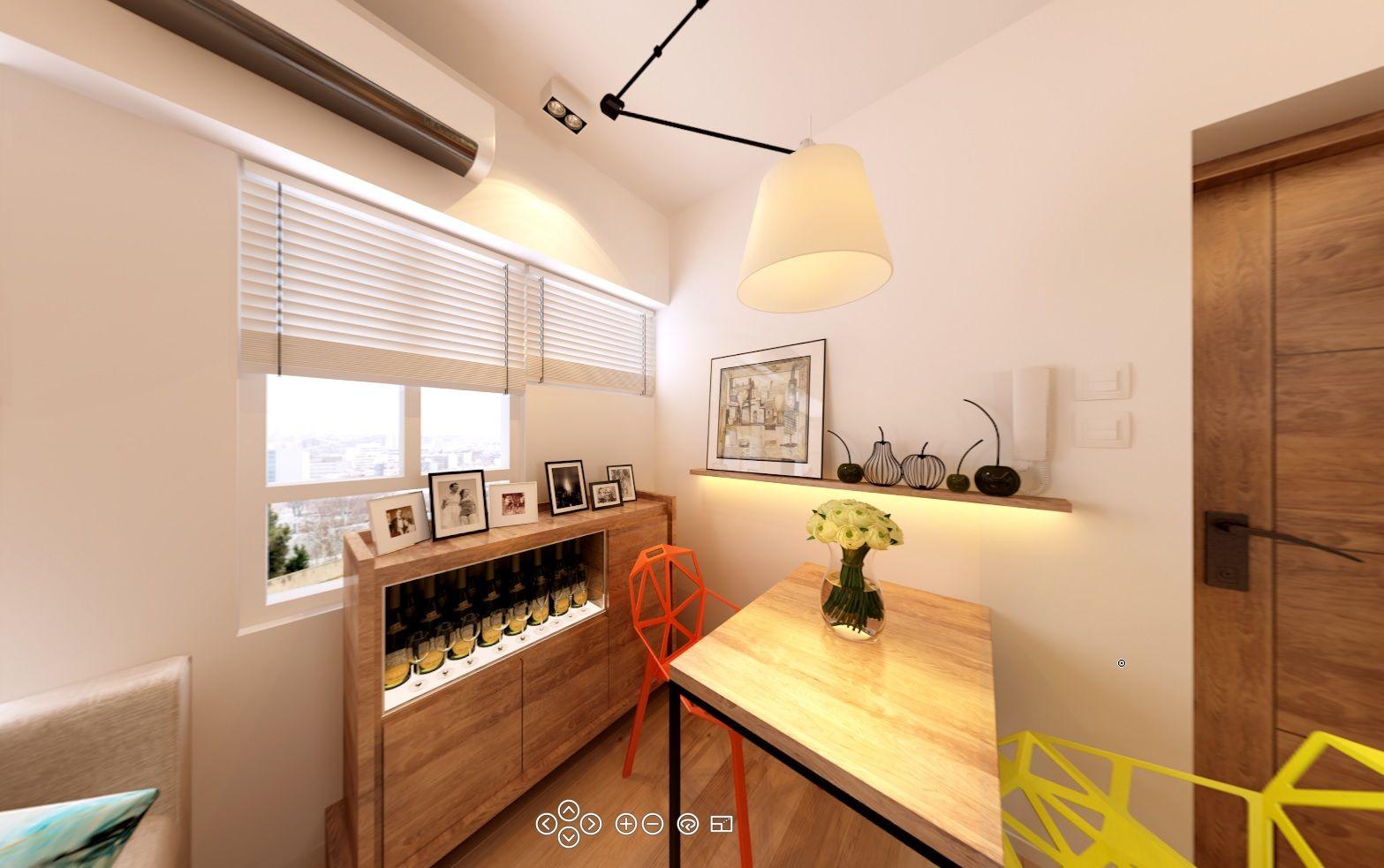 Home interior design hong kong project wunsha court of hong kong  rendering  master bedroom