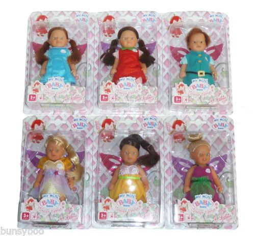 Details About New My Mini Baby Born Magical Flower Fairies