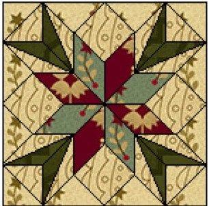 quilt medaillon croixpatch74 - copie                                                                                                                                                     Plus                                                                                                                                                                                 Plus