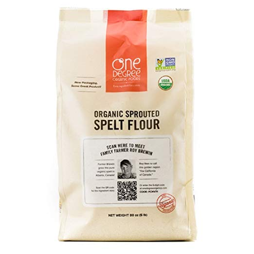 One Degree Organic Foods Sprouted Spelt Flour