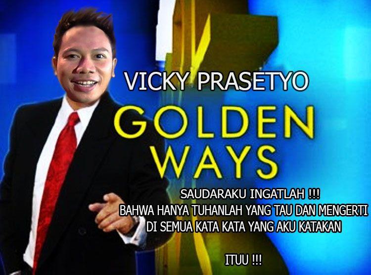 Kata Kata Cinta Vicky Prasetyo