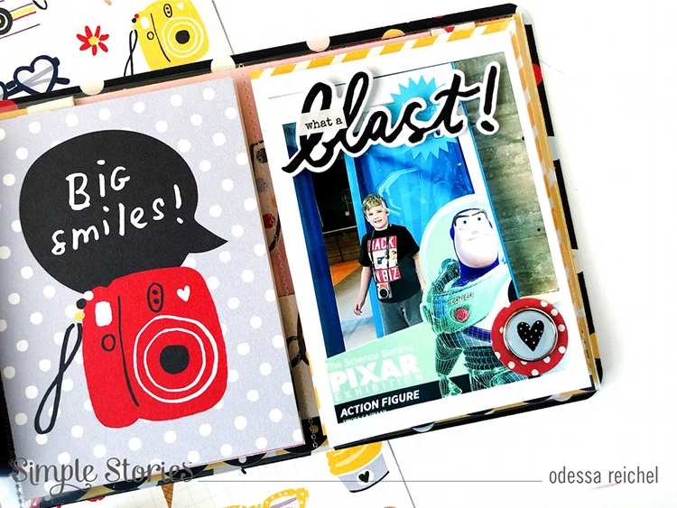 SNAP Cards 10544 Simple Stories Say Cheese 4 Collection