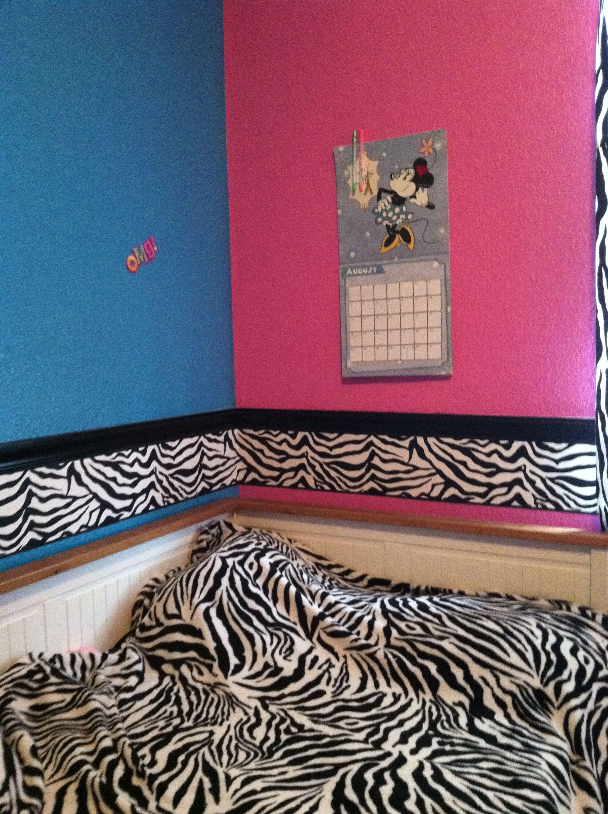 Cure Zebra Bedroom Bedroom Bedroom Decor Blue Room Decor