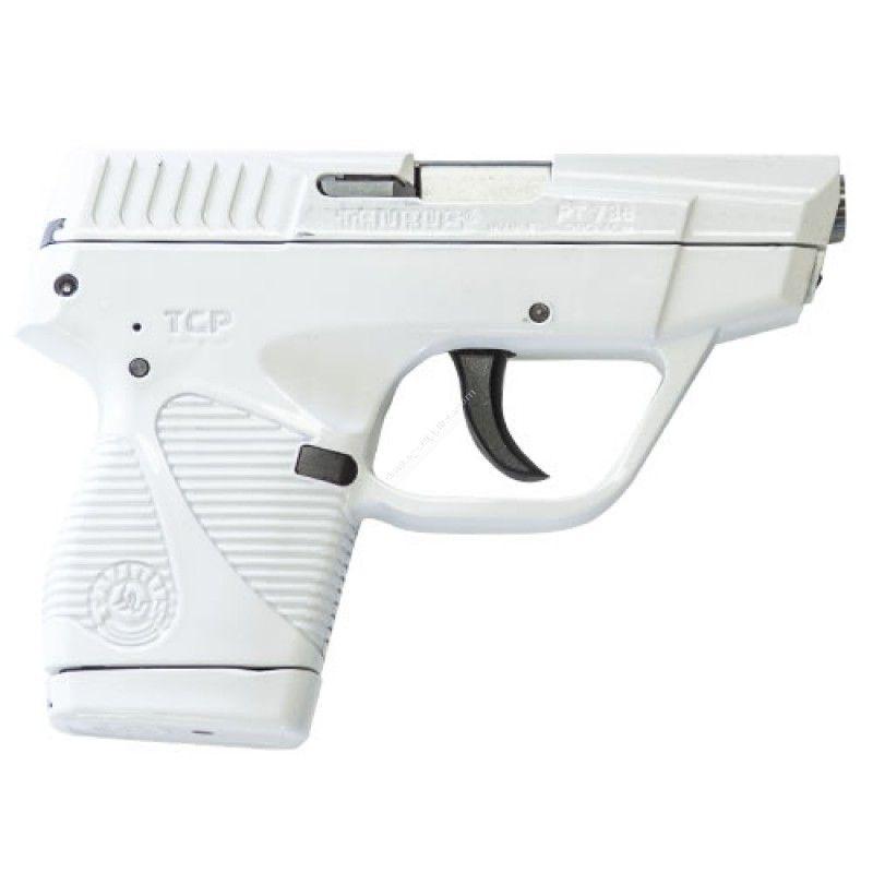 The model 1-738039W Taurus 738 TCP .380 ACP Handgun with white ...