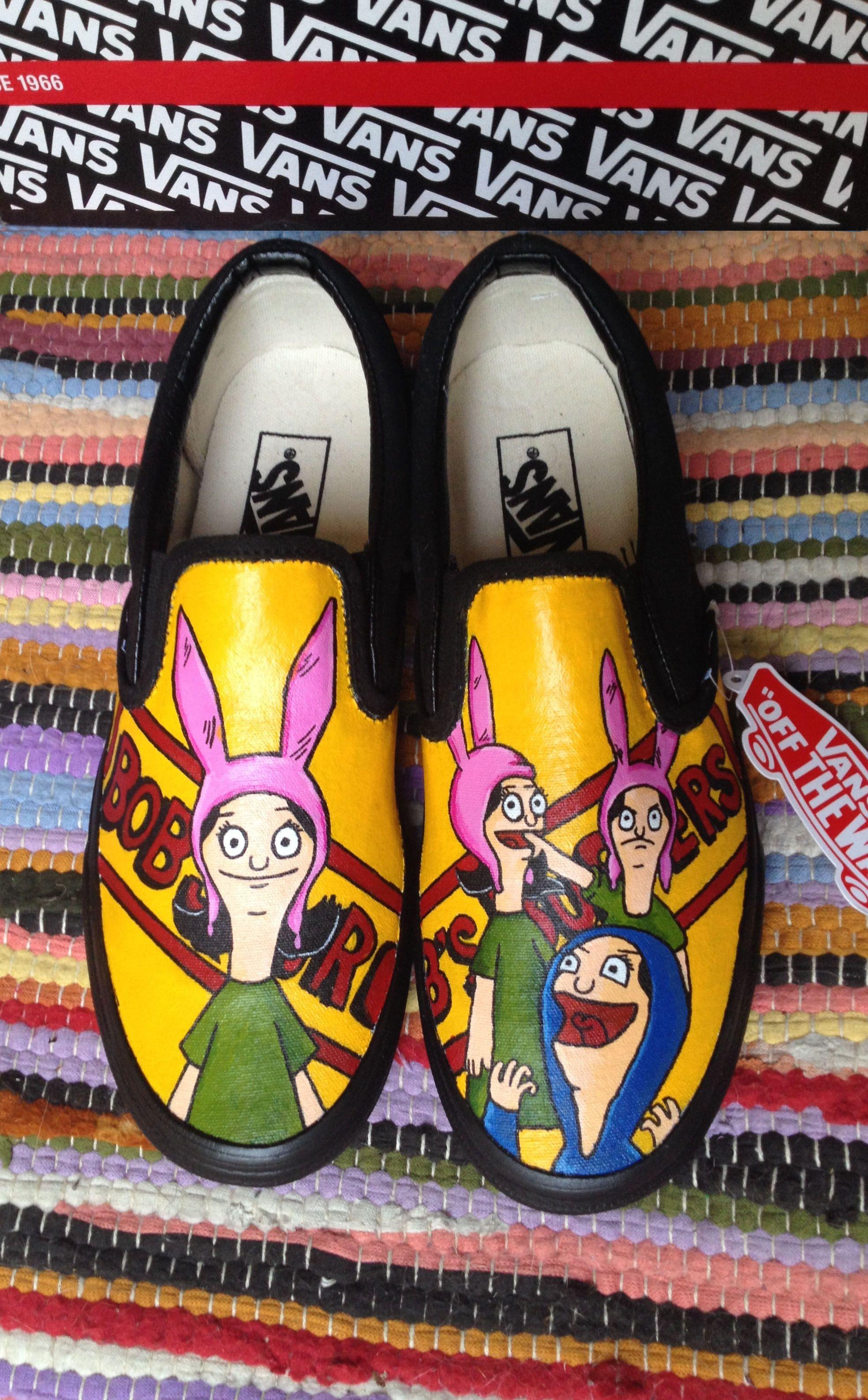 8e1bd066cc Bobs burgers Louise Belcher custom Vans!  LouiseBelcher  Custom Vans  Vans   Bobsburgers  Cosplayshoes  Customordershoes  LouiseVans  Handpaintedshoes  ...