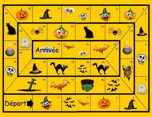 Bevorzugt plateau jeu halloween | Halloween | Pinterest | Géant, Jeux de et Jeu ZI02