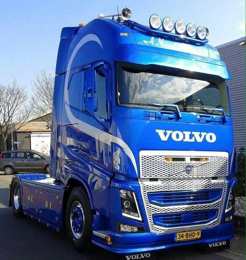 Volvo Truck With Images Volvo Trucks Trucks Big