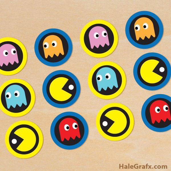 photograph relating to Pac Man Printable named Pin upon Pac-guy