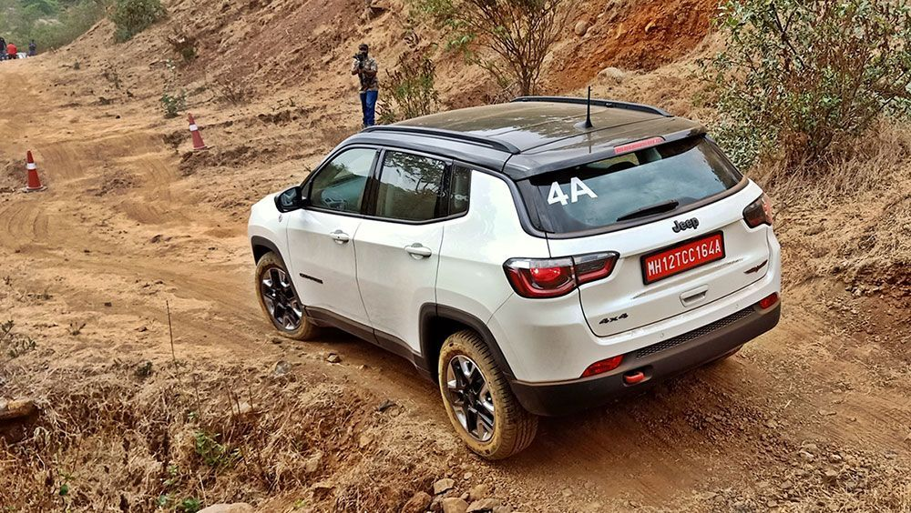 Jeep Compass Trailhawk Review First Bs6 Diesel Suv Automoviles