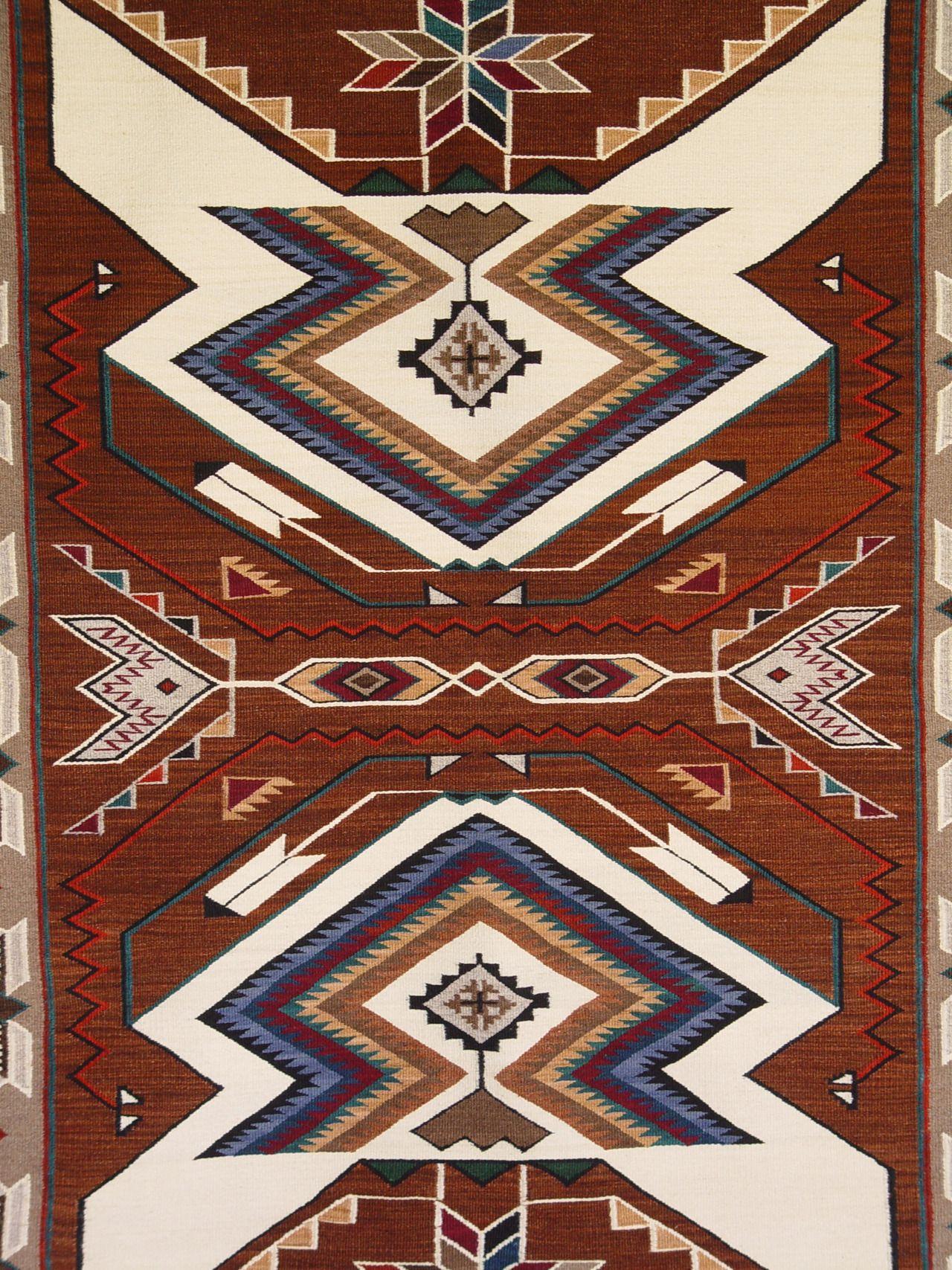 Navajo Blanket Debs Embroidery Native American Rugs
