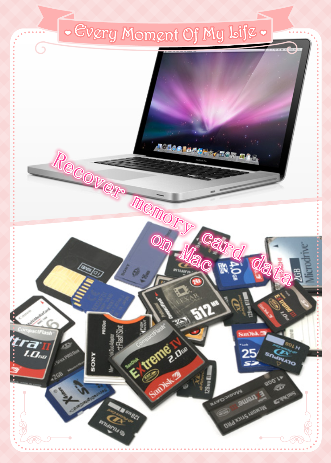 Restore Files on Memory Cards on Mac Memory cards, Data