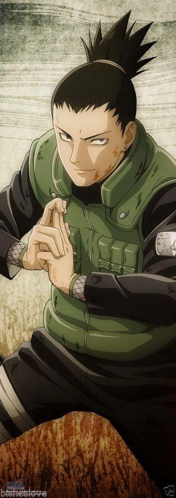 Veja as melhores imagens do personagem Shikamaru do anime Naruto