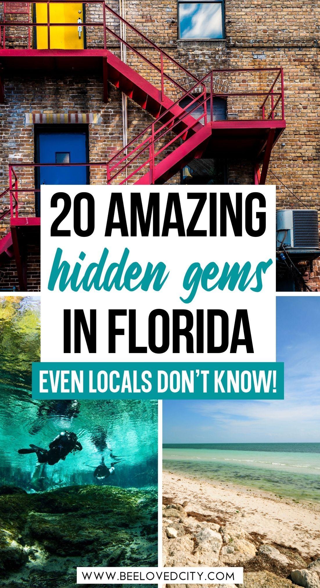 20 Most Beautiful Hidden Gems In Florida Beeloved City In 2021 Florida Travel Guide Florida Travel Destinations Florida Travel