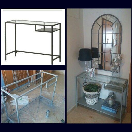 Ikea hack vittsjo entryway Do it yourself Pinterest Inredning och Inspiration