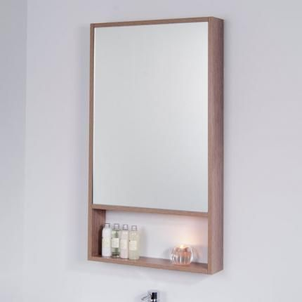 Banff Oak Mirror Bathroom Mirror Design Stylish Bathroom
