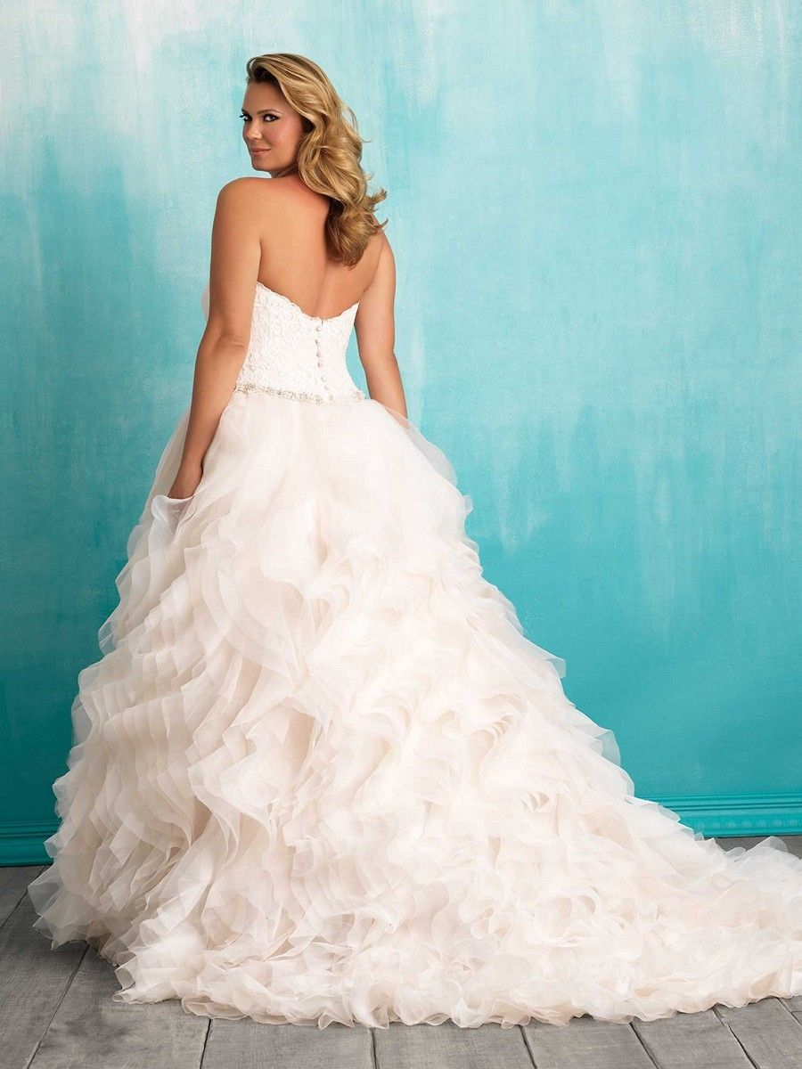 Funky Full Figure Wedding Dress Pattern - All Wedding Dresses ...