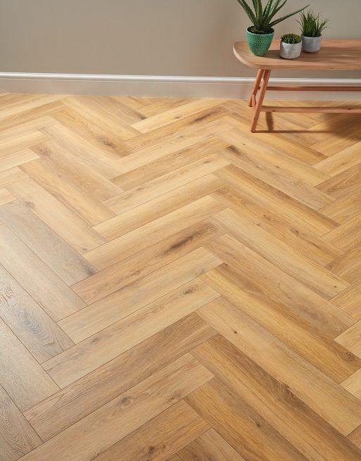 Herringbone Bayside Oak Laminate Flooring in 2020 Oak