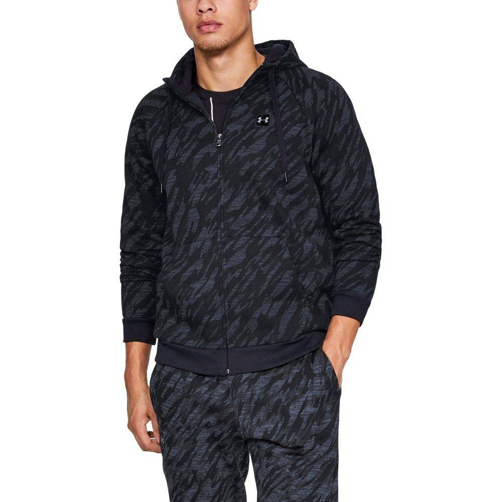 c7028901b52ad Under Armour Men's Rival Fleece Camo Full Zip | Products | Full zip ...