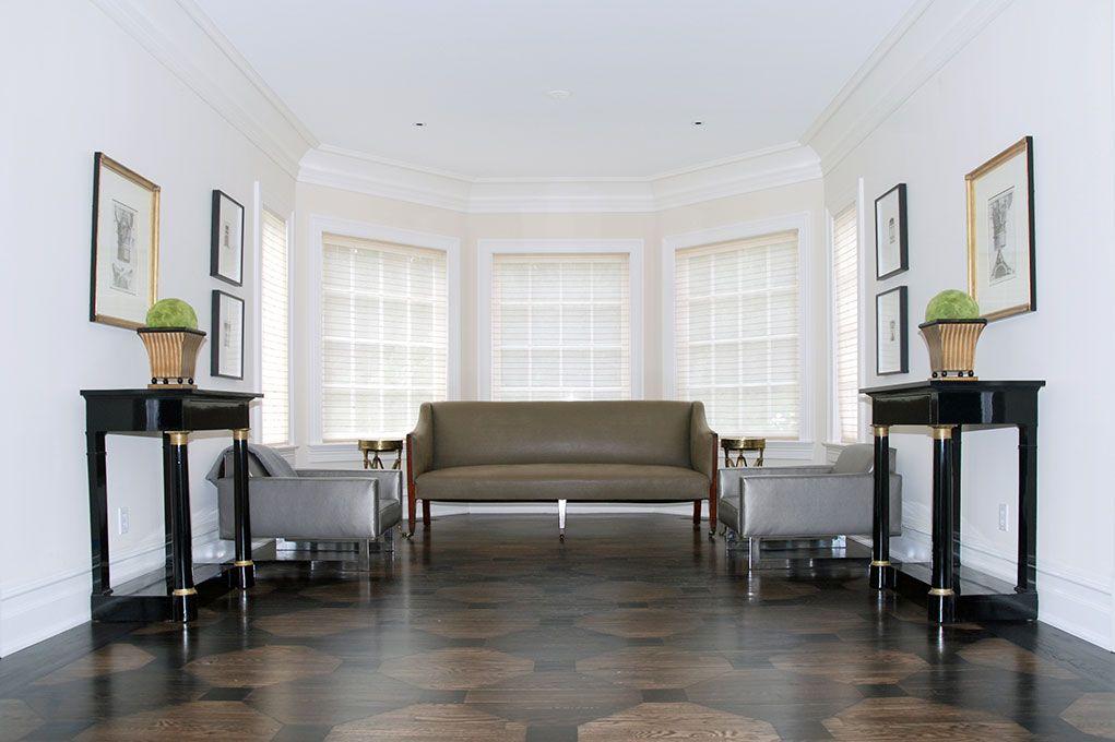 Floor for foyer | Karp Associates