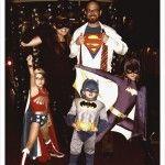 Ad Halloween una famiglia di super eroi!