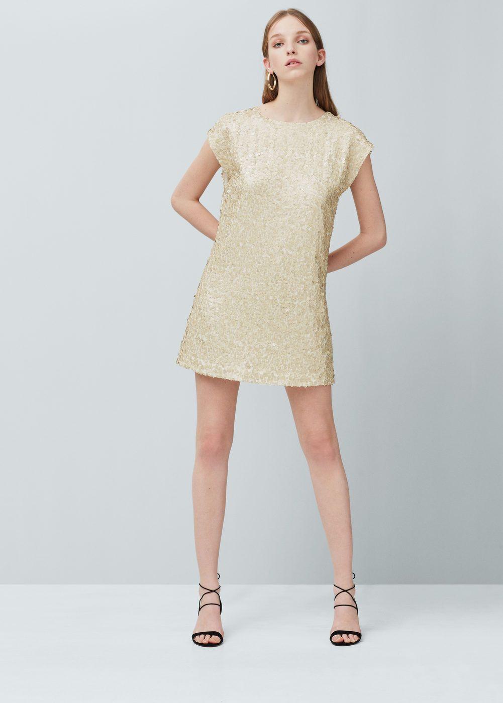Vestido lantejoulas - Mulher   Pinterest   Vestido b172774b751c