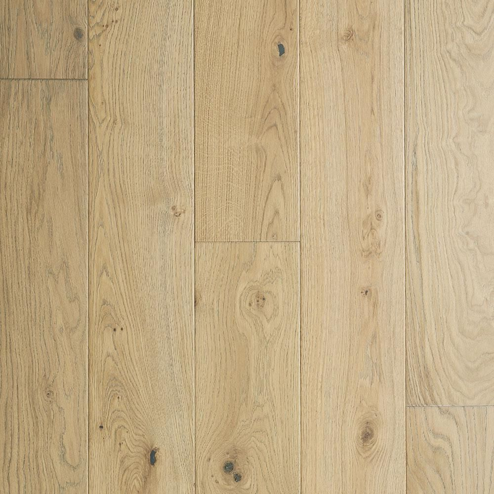 Malibu Wide Plank French Oak Mavericks 3 8 In Thick X 6 1 2 In Wide X Varying Length Click Lock Hardwood Flooring 23 64 Sq Ft Case Hdmpcl121ef The Home Hardwood Floors Engineered Hardwood French Oak