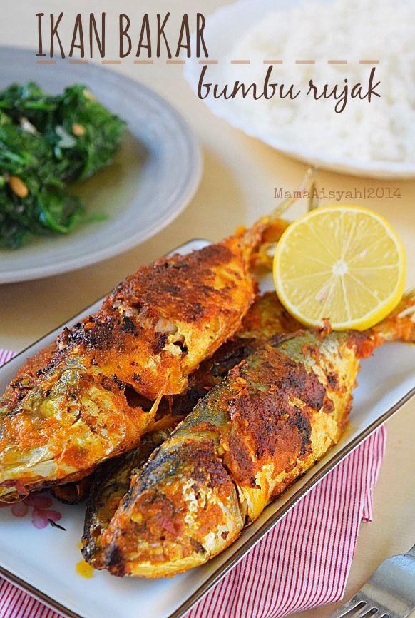 Dapur Mama Aisyah Ikan Bakar Panggang Pedas Dengan Teflon Pan Grilled Fish With Chili Coconut Sauce Resep Ikan Bakar Ikan Bakar Makanan Dan Minuman
