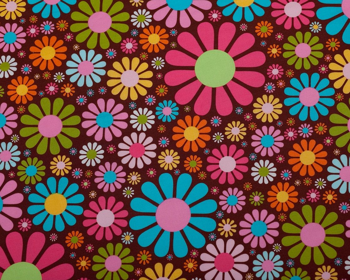 Robert Kaufman Every Iota Daisy Fabric By The Yard The O