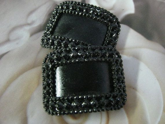 Victorian Shoe Buckles by PetitDepannier on Etsy