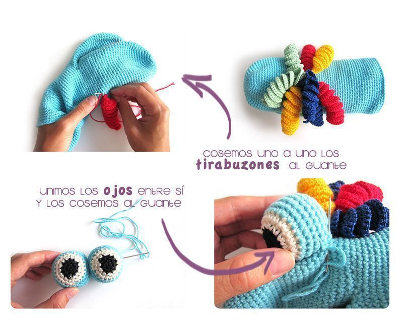 Marioneta amigurumi - Crochet DIY | crochet | Pinterest | Marioneta ...