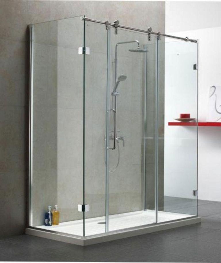 Bathroom Sliding Shower Door Ideas 7 Sliding Shower Door