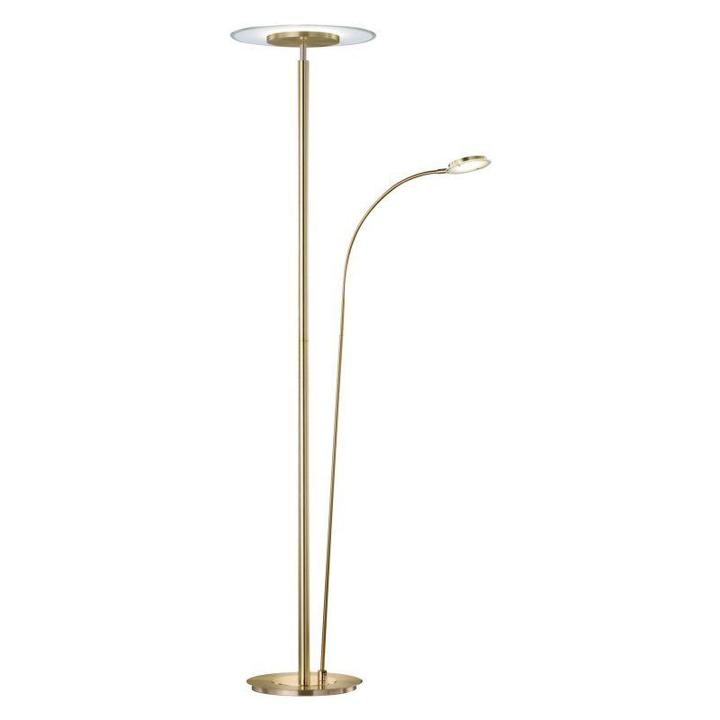 Arnsberg tampa torchiere floor lamp with side light 479110207