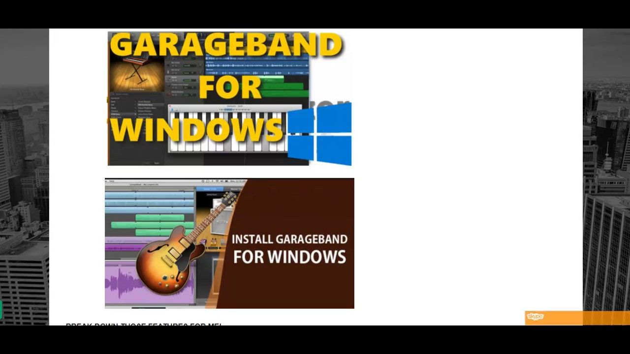 GarageBand for PC Free Download | windows10ny com ในปี 2019