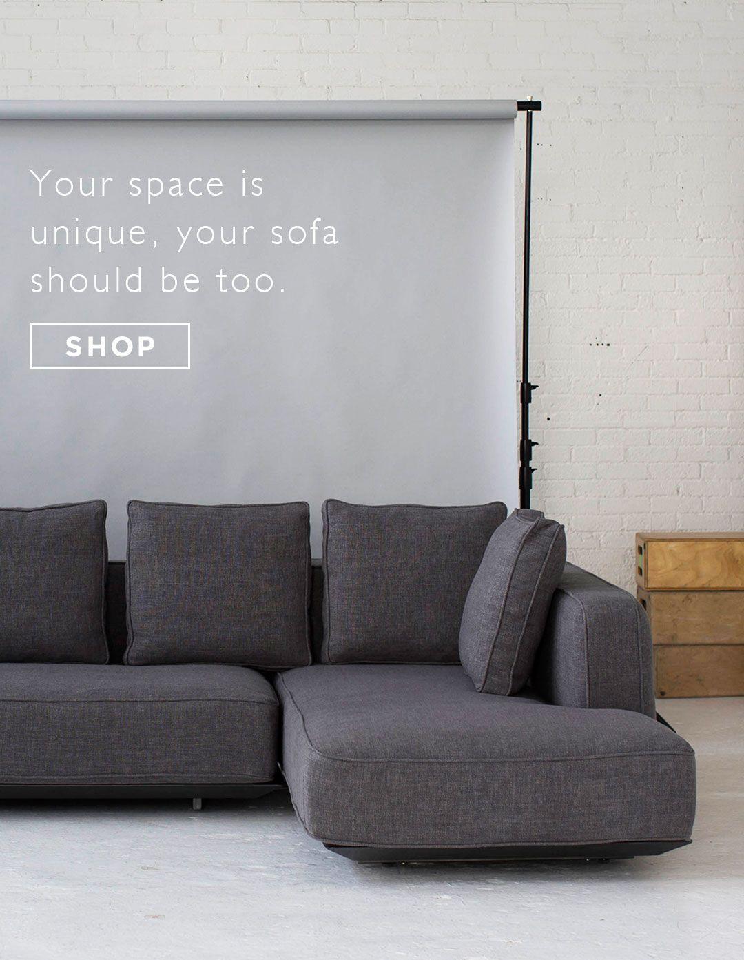 Custom Sofas At Attainable Prices Interior Define Home - Media room sofa