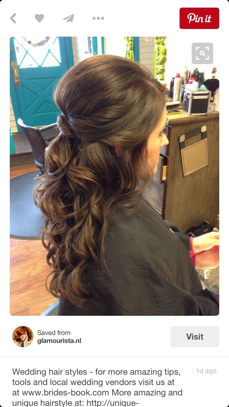 Pin by rebecca noble on wedding hair pinterest hair