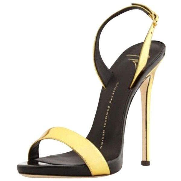 5f490d77d2563 Pre-owned Giuseppe Zanotti Sandals ( 637) ❤ liked on Polyvore featuring  shoes